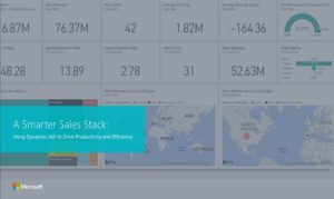 A Smarter Sales Stack: Using Dynamics 365 to Drive Productivity and Efficiency